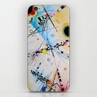 Kandinsky Reimagined  iPhone & iPod Skin
