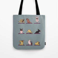 Frenchie Yoga Tote Bag