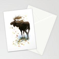 Moose Reflection Stationery Cards