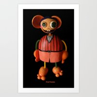 Fred Favolas Art Print