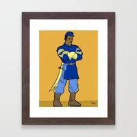 Union Soldier Framed Art Print