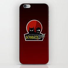 The Adventures of Bat man and Rob Zombie iPhone & iPod Skin