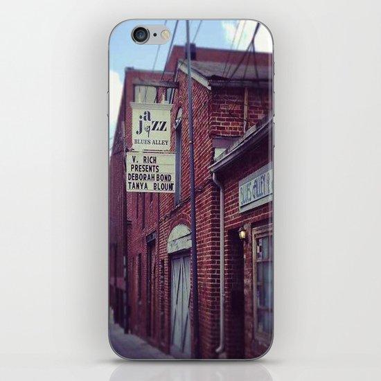 Blues Alley (Washington, DC) iPhone & iPod Skin
