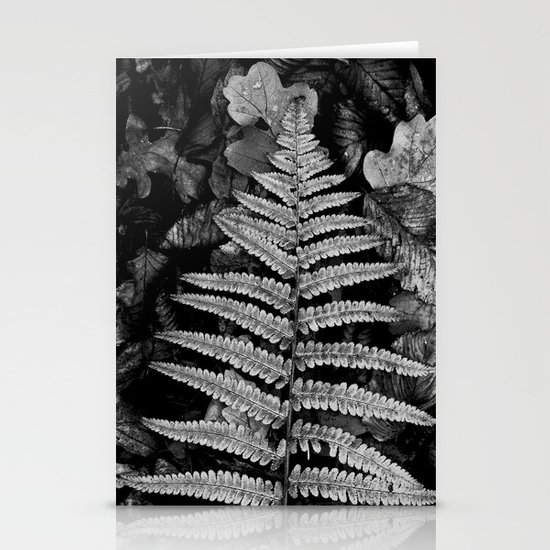 fern leaf VI Stationery Card