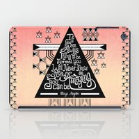 Be Amazing iPad Case