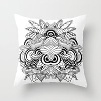 Mindscape Throw Pillow