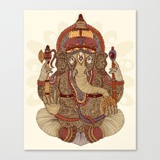 Ganesha: Lord of Success Canvas Print