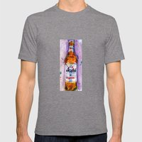 Asahi Beer Mens Fitted Tee Tri-Grey SMALL