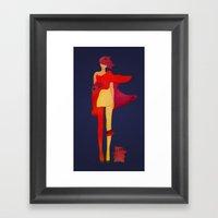 Squantoo Framed Art Print