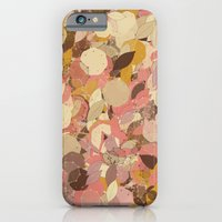 iPhone & iPod Case featuring Dusty Leaf by Fabrika