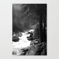 Whiteout Yosemite-2 Canvas Print