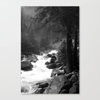 Whiteout Yosemite-2 Canvas Print