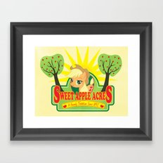 Sweet Apple Acres Framed Art Print