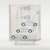 The Need For G's Shower Curtain