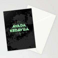 Harry Potter Curses: Avada Kedavra Stationery Cards