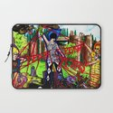 """Fever to Tell"" by Cap Blackard Laptop Sleeve"