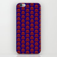 Mustached Octopi iPhone & iPod Skin