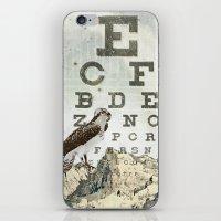 Eye Chart II iPhone & iPod Skin