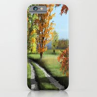 iPhone Cases featuring September by Turul