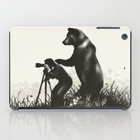 The Bear Encounter II iPad Case