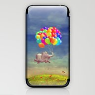 Cute  Illustration Of A … iPhone & iPod Skin