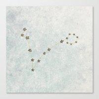 Pisces x Astrology x Zodiac Canvas Print