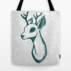 sketchy deer Tote Bag
