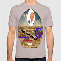 Trumpty Dumpty sat on a wall Mens Fitted Tee Cinder SMALL