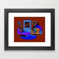 Quack Therapy Framed Art Print