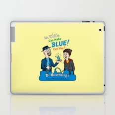 Mr. White Can Make Blue! Laptop & iPad Skin