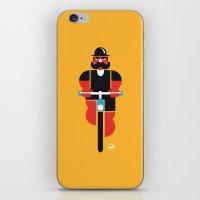 Bicycle Man iPhone & iPod Skin
