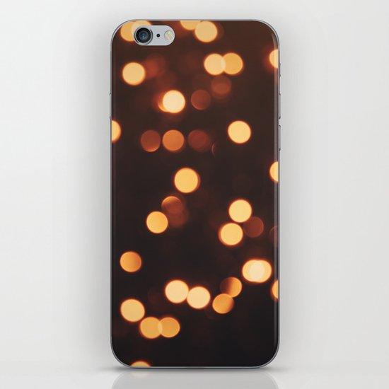 Christmas Lights II iPhone & iPod Skin