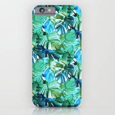Palm Leaf Green iPhone 6 Slim Case