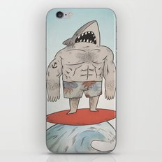 Surf Shark iPhone & iPod Skin