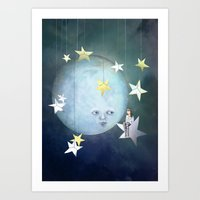 Hanging With The Stars Art Print