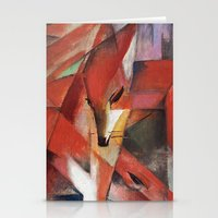Franz Marc - The Foxes, … Stationery Cards