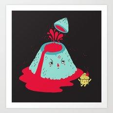 Watch Your Temper Art Print