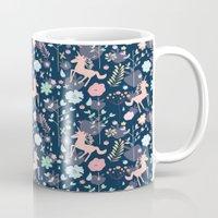 Unicorns In Hesperides Mug