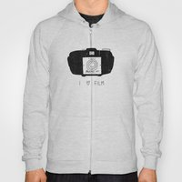 I Love Film Hoody