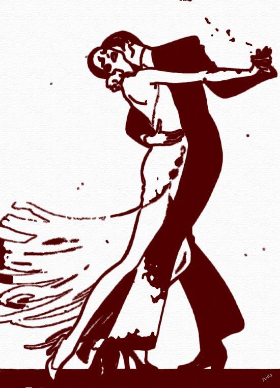 Tango Fantasy Art Print