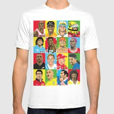 select your athlete Mens Fitted Tee White SMALL