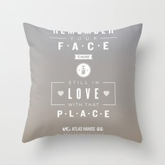 Atlas Hands Throw Pillow