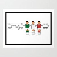 Italian Football - Caten… Art Print
