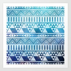 Tribal Vision. Art Print
