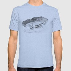 Mad Max Interceptor Mens Fitted Tee Athletic Blue SMALL