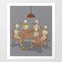 Jackstraw Art Print