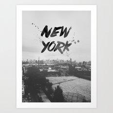 New York Baby Art Print