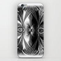 Abstract.White+Black Pea… iPhone & iPod Skin
