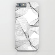 Black And White Shapes P… iPhone 6 Slim Case
