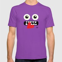 EYE EAT Mens Fitted Tee Ultraviolet SMALL